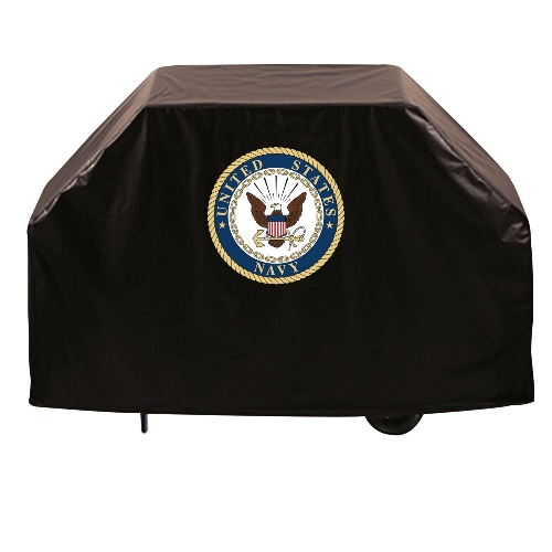 Grill Cover by Holland Bar Stool, 60'' - United States Navy