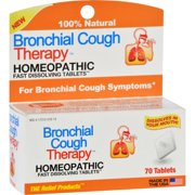 TRP Bronchial Cough Therapy Homeopathic Tablets - 70 CT