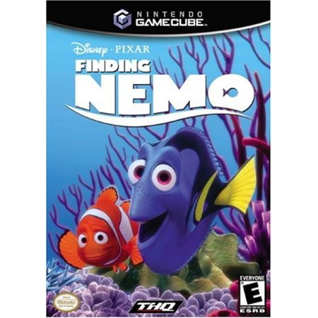 Finding Nemo - Gamecube, You'll guide Marlin, Dory and Nemo through ten levels of underwater adventure, as you try to reunite the family By THQ From (Top 10 Best Gamecube Games)