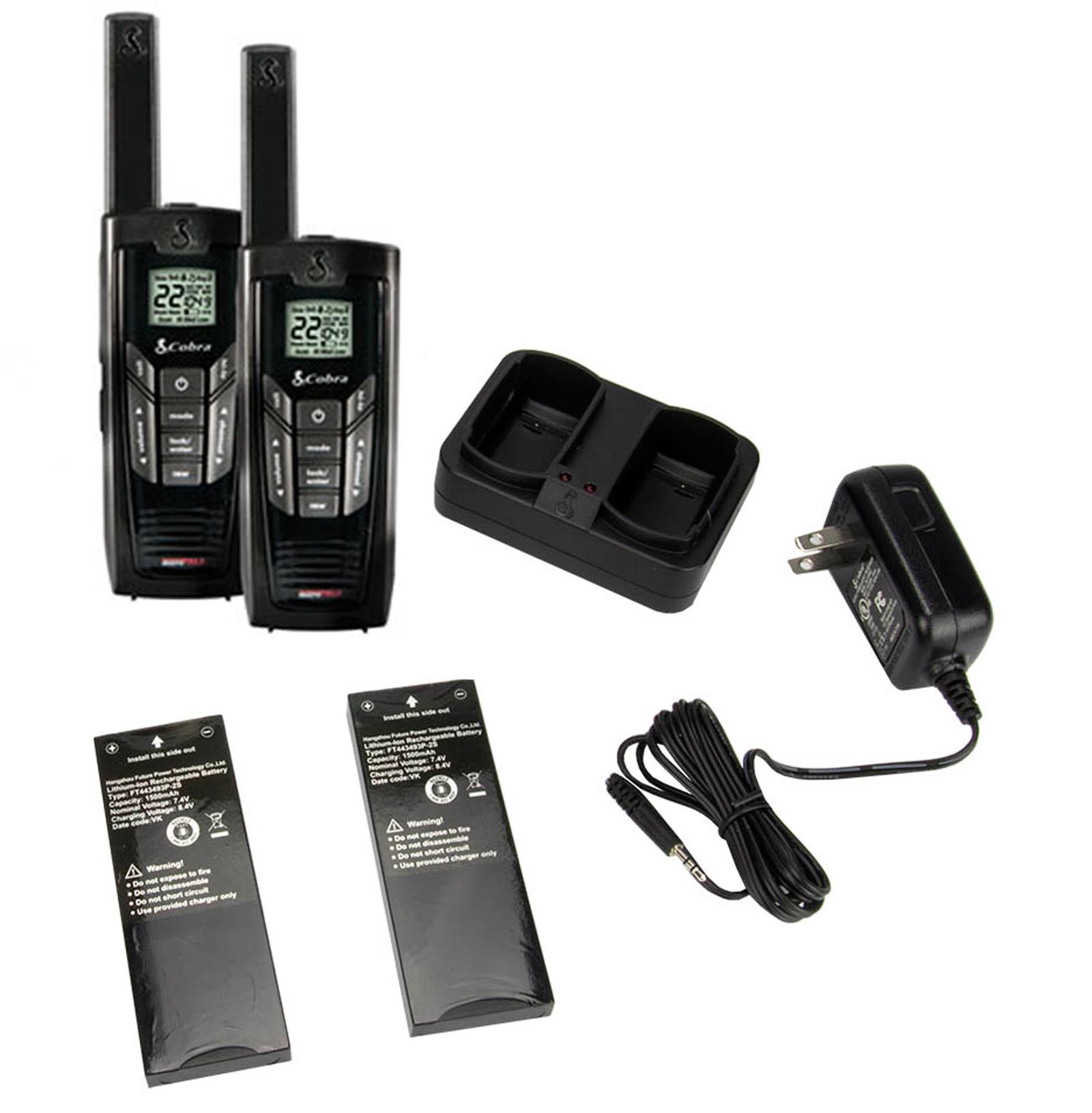 Cobra Electronics Cxr925 35-mile Microtalk 2-way Radios, 2 Pk