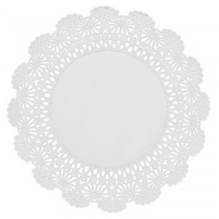 Colored Paper Doilies (Hoffmaster 500236 CPC 8 in. Cambridge Lace Paper Doilies, White - Case of 1000)
