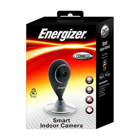 Energizer Connect WI-FI Smart Indoor Camera Home Security IOS & (Best Dbpower Ios Cameras)