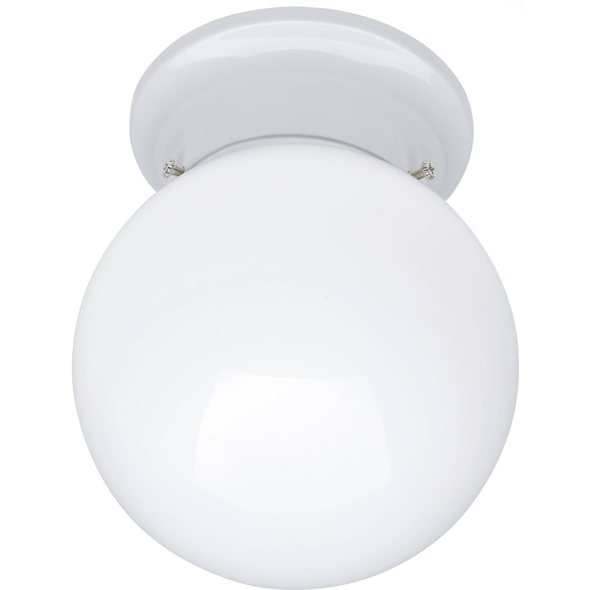 "Chapter Indoor 6"" Globe Ceiling Light, White by"
