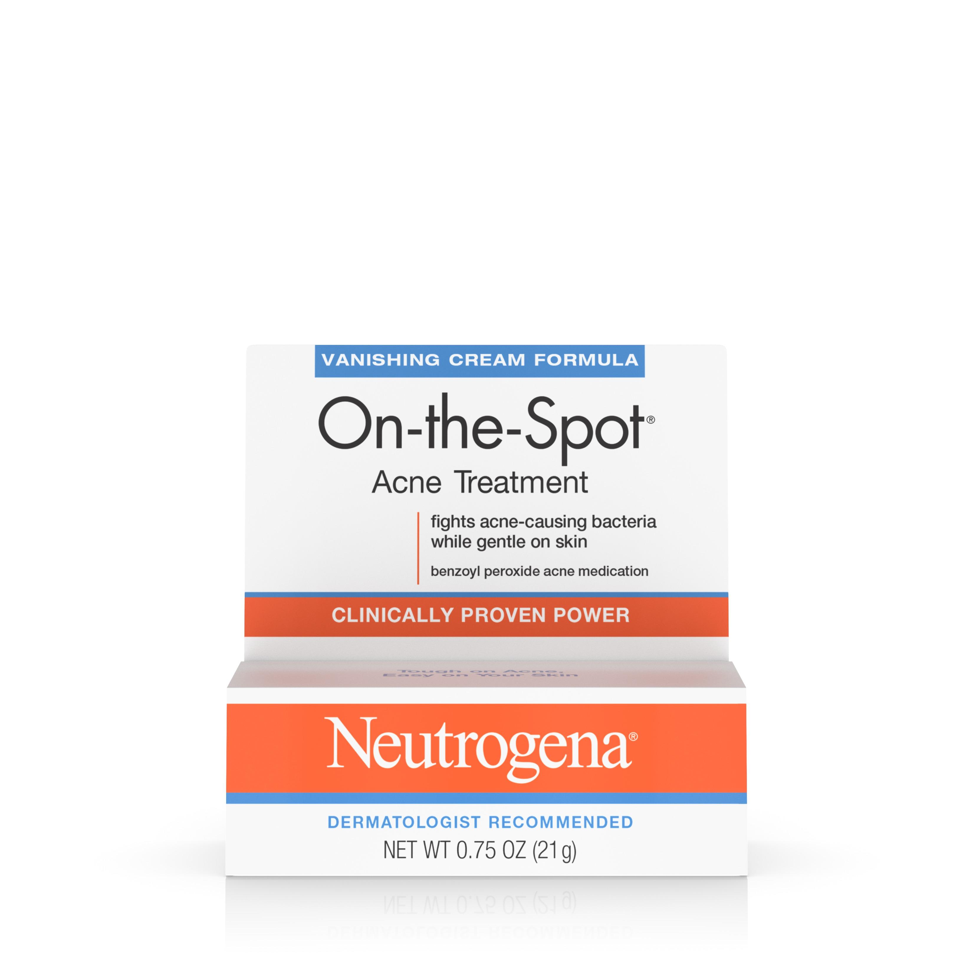 Neutrogena On-The-Spot Acne Treatment With Benzoyl Peroxide, 0.75 Oz. - Walmart.com