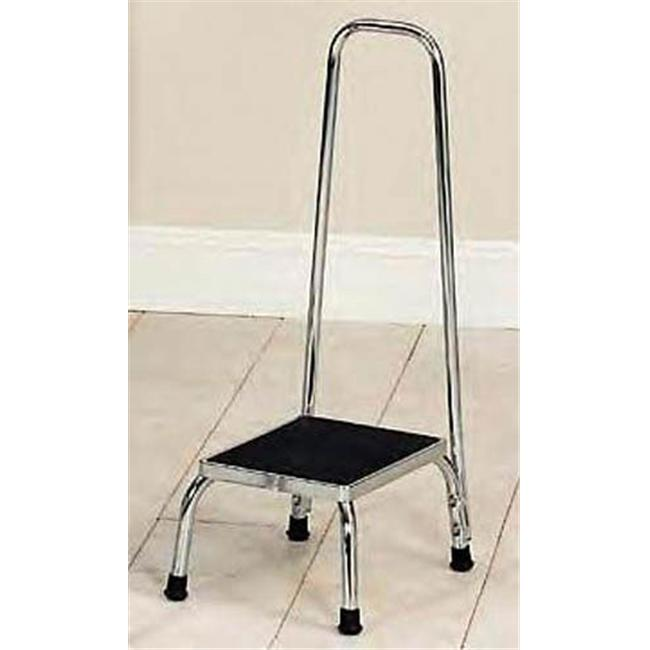 Complete Medical 6094 Foot Stool with Rail