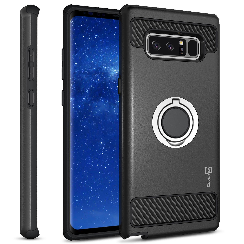 CoverON Samsung Galaxy Note 8 Case, RingCase Series Hybrid Kickstand Phone Cover