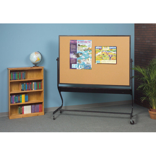 Euro Reversible Boards - Projection Plus/Natural Cork (30 in. W x 40 in. H (68 lbs.))