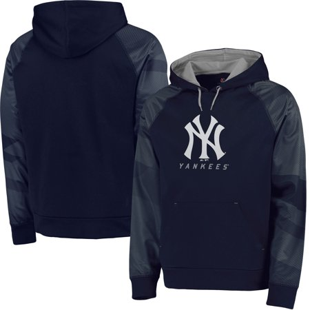 watch 5ae30 a2bf8 New York Yankees Majestic Big & Tall New Armour Performance Hoodie - Navy