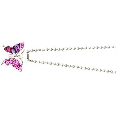 Pendant-Paua Shell Butterfly -