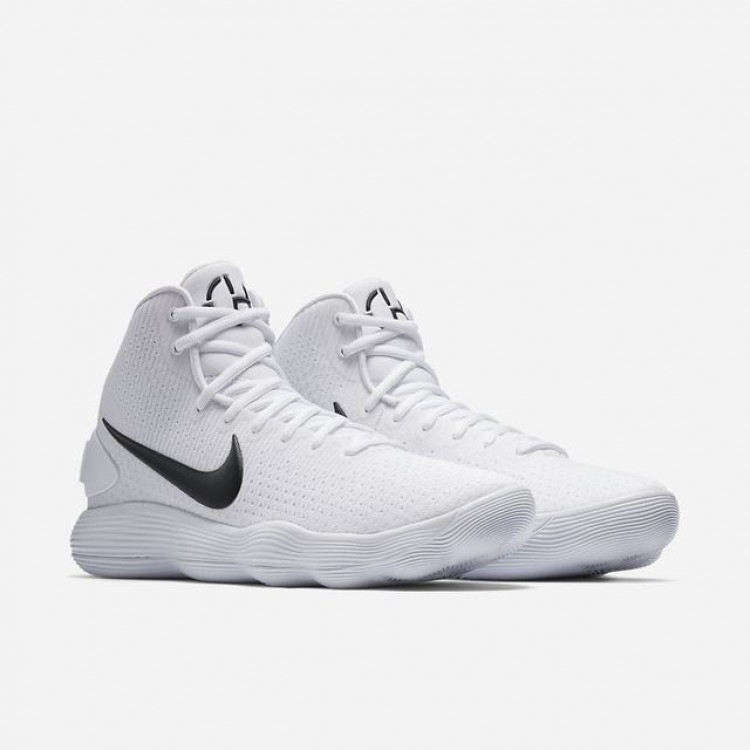 TB Basketball Shoes, White/Black