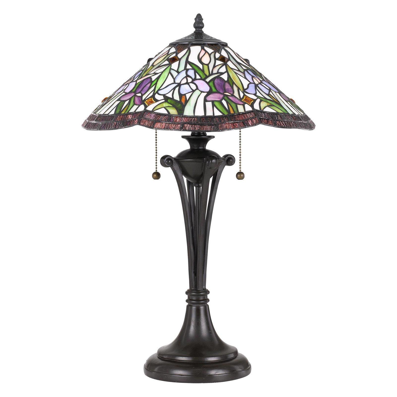 Quoizel Tf3456tvb Tiffany Table Lamp Walmart Com
