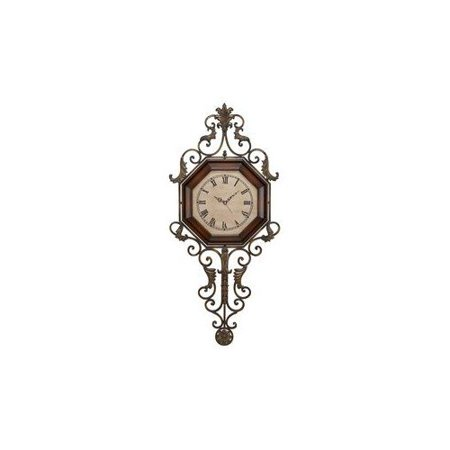 Aspire Home Accents 13688 Wrought Iron Wall Clock