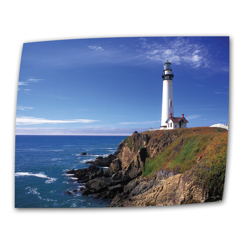 ArtWall Pigeon Point Lighthouse by Kathy Yates Photographic Print on Rolled Canvas