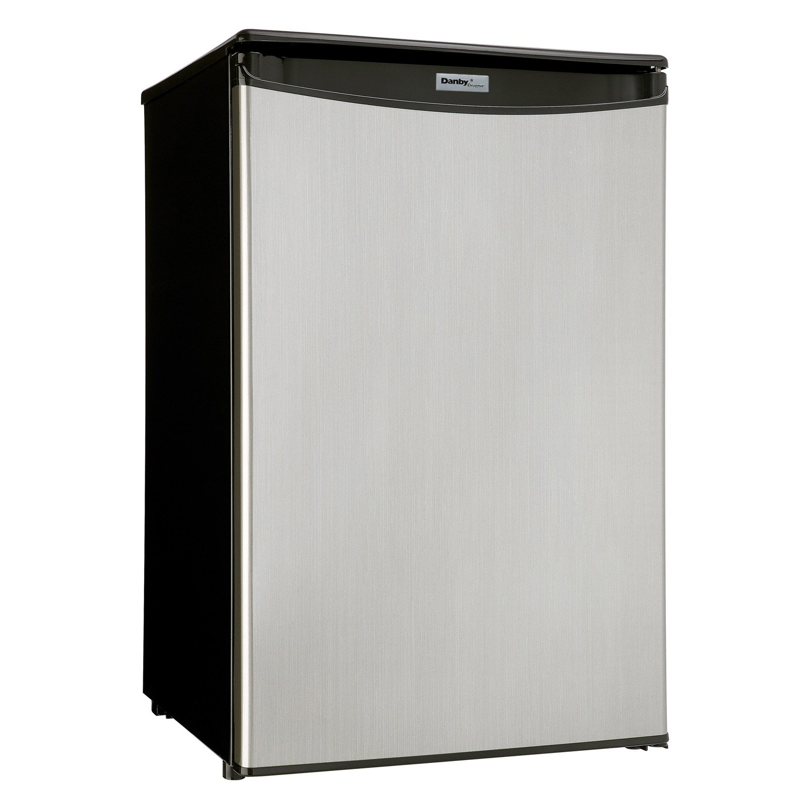 Danby Designer 4 4 Cu Ft Compact All Refrigerator Spotless Silver Walmart Com Walmart Com