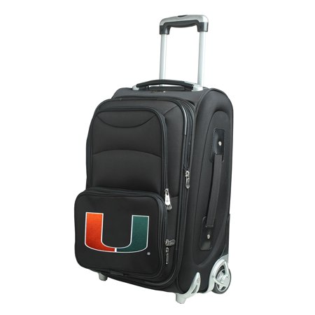 Miami Hurricanes 21u0022 Rolling Carry-On Suitcase