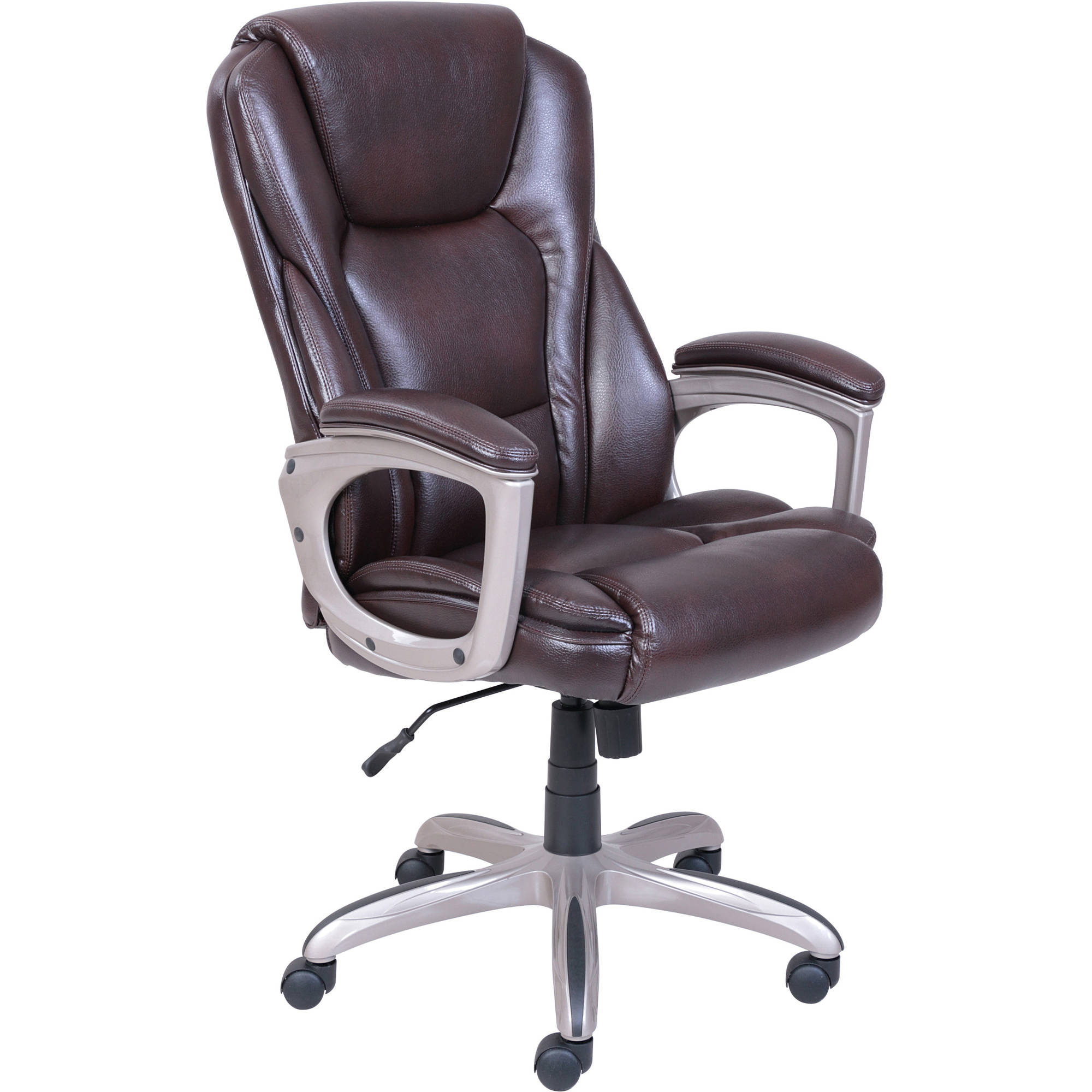 Modern leather office chair - Serta Big Tall Commercial Office Chair With Memory Foam Multiple Colors Walmart Com