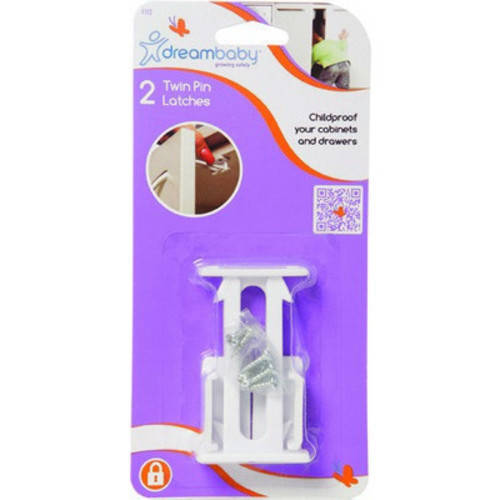 Dreambaby Double Pronged Latches 2 pk