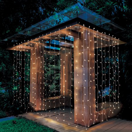 Better Homes Amp Gardens Outdoor Led Curtain Lights