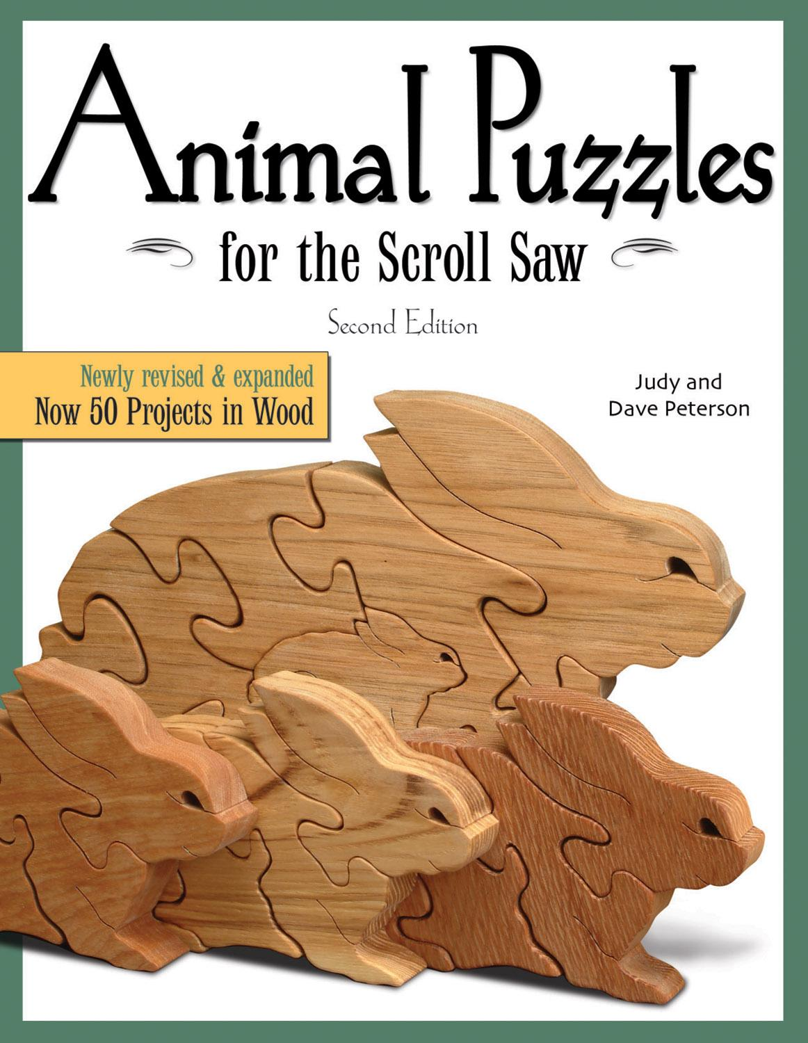 Animal Puzzles for the Scroll Saw by Fox Chapel Publishing