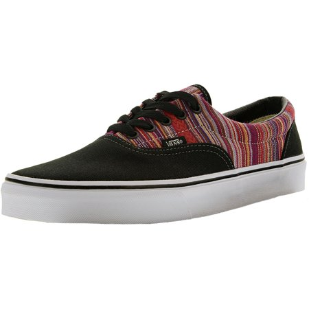 056e40f6a4 Vans - Vans Men s Era Guate Weave Black Multi Color Ankle-High Leather  Fashion Sneaker - 11M - Walmart.com