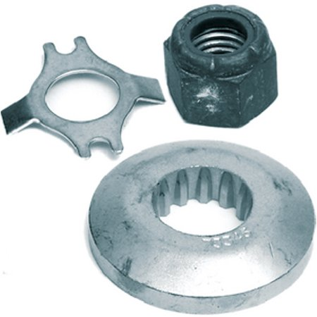 Mercury - Mercruiser 11-31990Q02  11-31990Q02; Propeller Nut Kt @2- (Pack Of 2) (Propeller Zinc Nut)