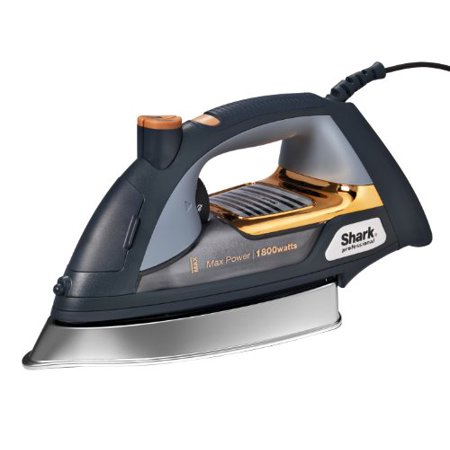 Shark Professional Steam Iron Garment Steamer With Fabric Selector Auto Shut Off And Stainless Steel Soleplate 1800 Watts Walmart Canada