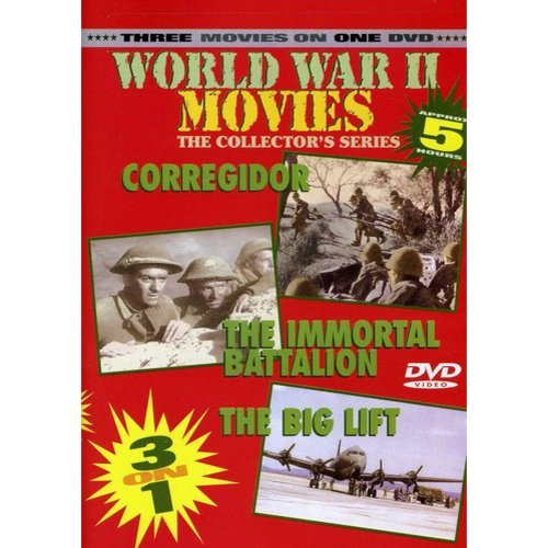 World War II Movies: Corregidor / The Immortal Battalion / The Big Lift (The Collector's Series) (Full Frame)
