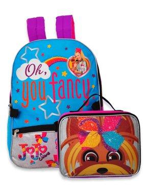 Jojo Siwa Backpack with Insulated Lunchbox