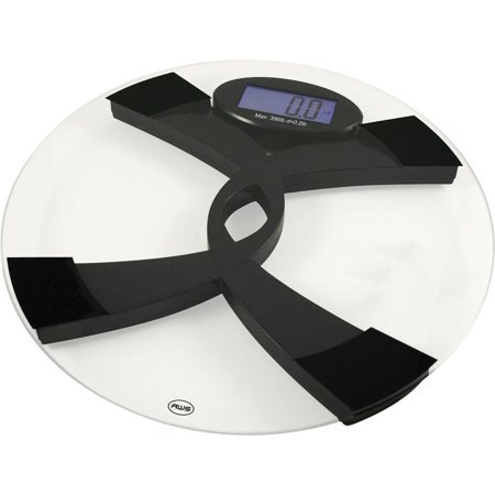 Amw-396tbs English and Spanish Talking Bathroom Scale 390 X 0.2 Pound, The 396tbs weighs up to 396lbs with a 0.2lb resolution By American Weigh