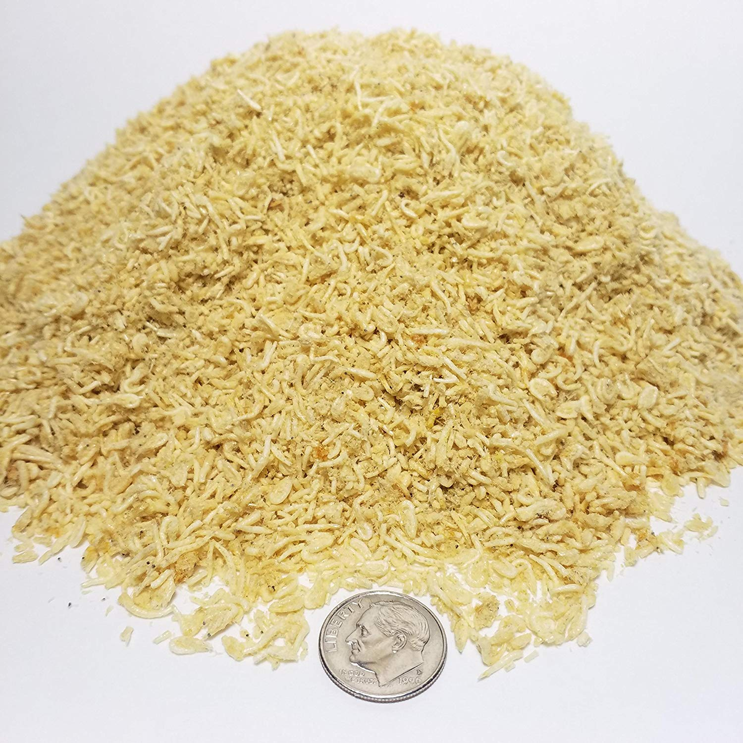 Aquatic Fods Freeze Dried Mysis Shrimp for Marines, Corals All Tropical Fish - 1/8-lb