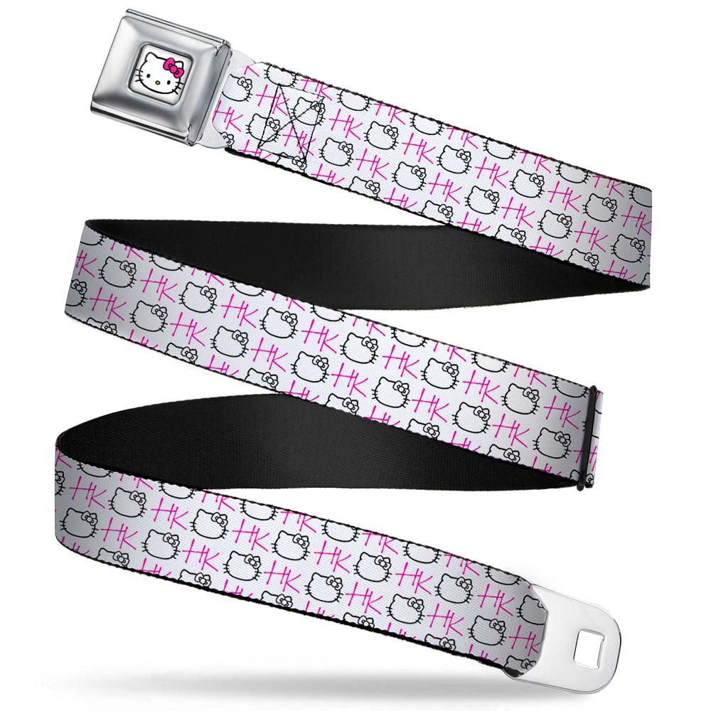 24-38 Inches Multicolor Unisex-Adults Buckle-Down Seatbelt Belt Uzi Regular BUCKLE-DOWN INC