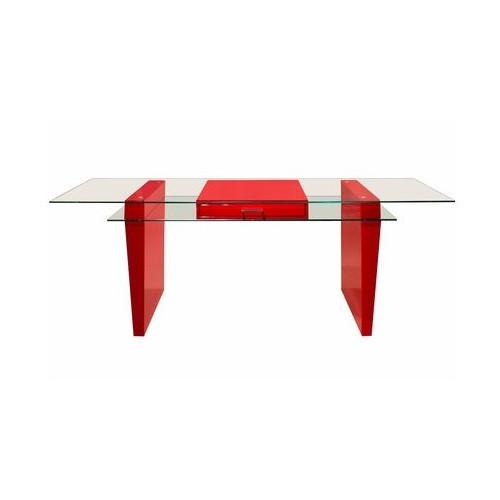 Sharelle Furnishings Crystal Writing Desk
