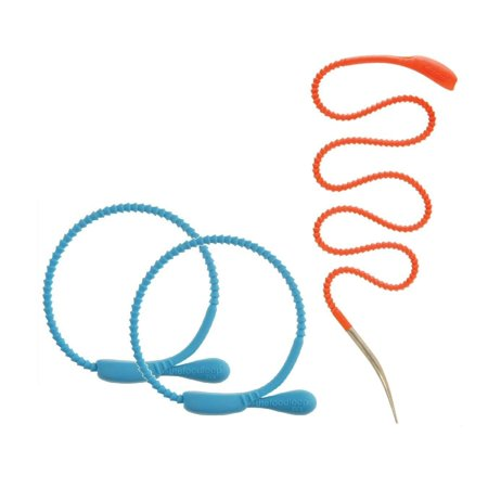 FusionBrands FoodLoop Mini & Lace - Silicone Trussing Food Ties & Poultry Lacer