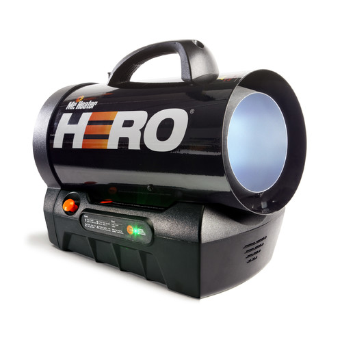 Hero Cordless Forced Air Propane 35,000 BTU