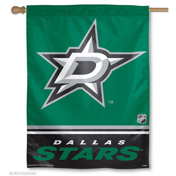 Dallas Stars Vertical Outdoor House Flag
