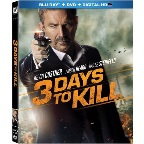 3 Days To Kill (Blu-ray   DVD   Digital HD) (With INSTAWATCH) (Widescreen)