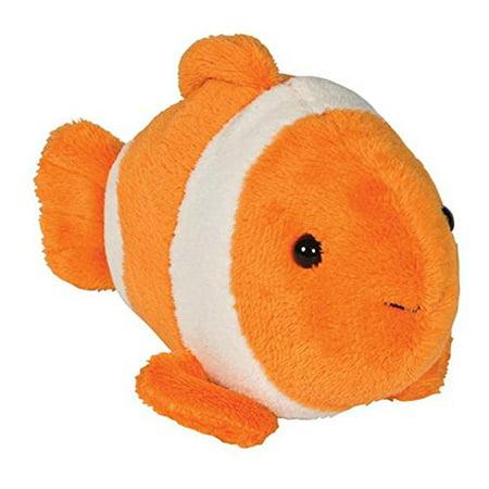 Clown Fish Bean Filled Plush Stuffed Animal (Fish Stuffed Animals)