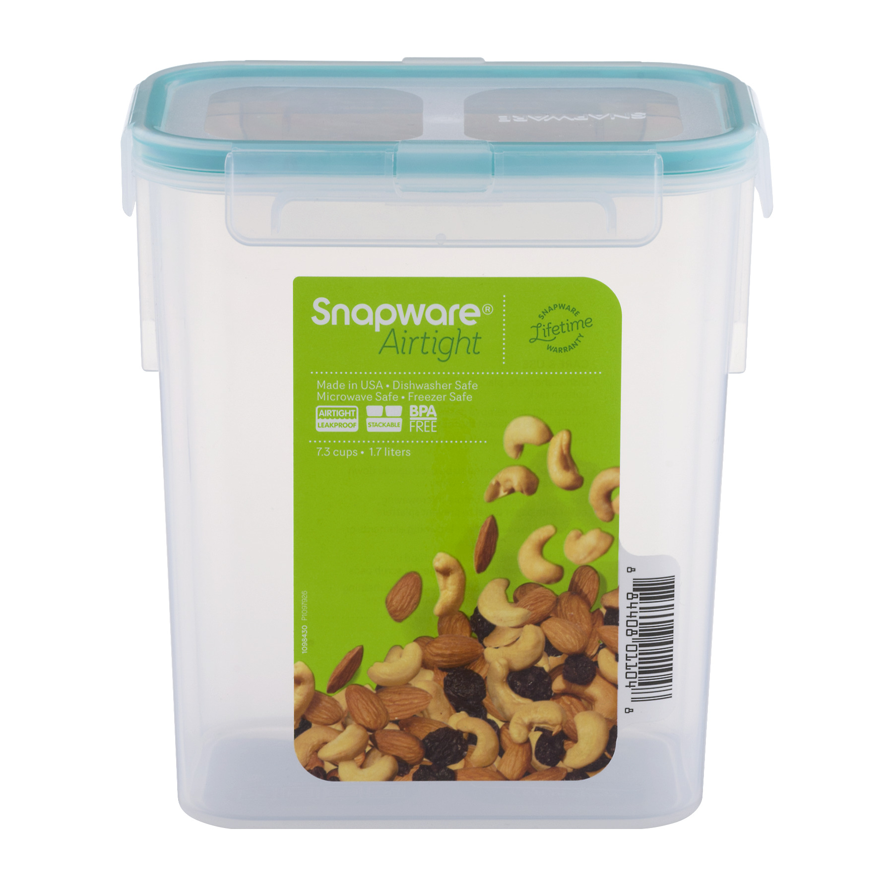 Snapware 7.3 Cups Airtight Food Storage Container 1 container  sc 1 st  Walmart & Snapware 7.3 Cups Airtight Food Storage Container 1 container ...