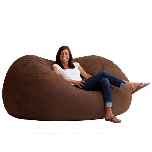Magnificent Big Joe Xl 6 Fuf Bean Bag Chair Multiple Colors Fabrics Dailytribune Chair Design For Home Dailytribuneorg