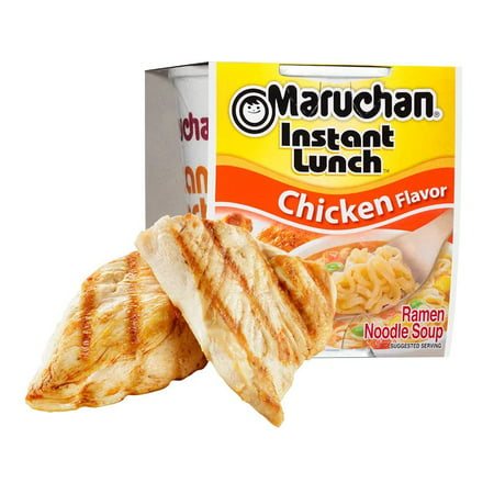 Instant Noodle Soup - (12 Packs) Maruchan Chicken Instant Lunch, 2.25 oz