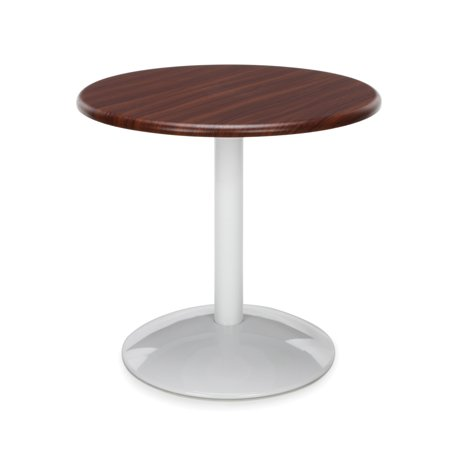 OFM Orbit Series Model OT24RD 24u0022 Round Table, Mahogany