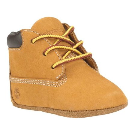 TIMBERLAND Baby Boys New Born Wheat Beige Casual Booties Shoes Crib