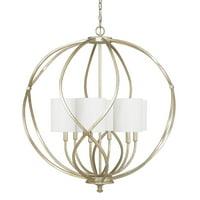 Capital Lighting Bailey Winter Gold 6 Light Pendant