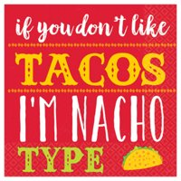 Fiesta 'I'm Nacho Type' Small Napkins (16ct)