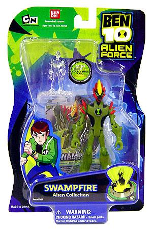 Ben 10 Alien Collection Swampfire Action Figure by