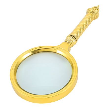 - Handheld 10X Magnifying Glass Reading High Definition Illuminated Magnifier