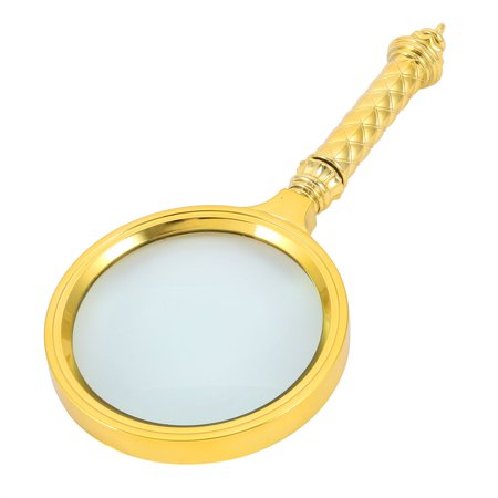 Handheld 10X Magnifying Glass Reading High Definition Illuminated Magnifier Smashbox High Definition Healthy