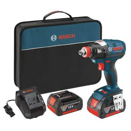 Cordless Impact Driver Kit,18.0V,1/4 in.