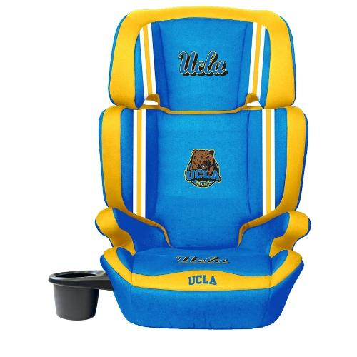 NCAA High Back Booster Seat by Lil Fan, 2-in-1 - UCLA Bruins