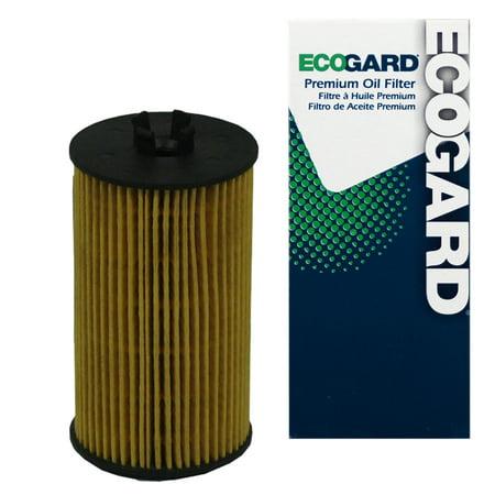 ECOGARD X5839 Cartridge Engine Oil Filter for Conventional Oil - Premium Replacement Fits Chevrolet Cruze, Sonic, Trax, Cruze Limited, Aveo, Aveo5, Malibu, Colorado / Buick Encore, Cascada